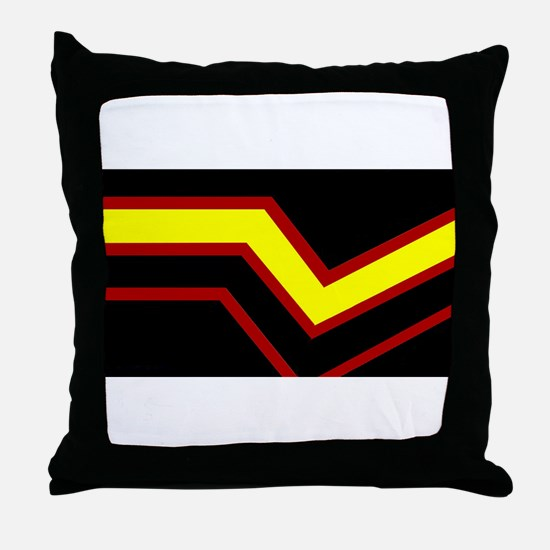 Rubber Pride Flag Throw Pillow