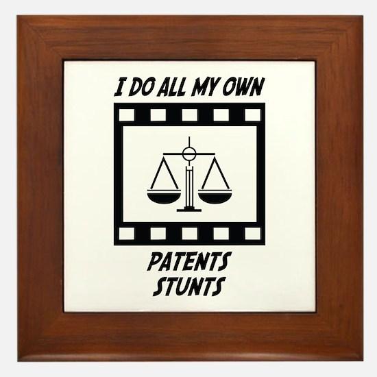 Patents Stunts Framed Tile