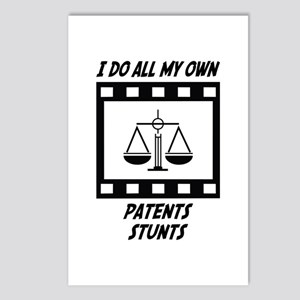 Patents Stunts Postcards (Package of 8)