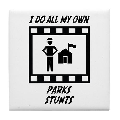 Parks Stunts Tile Coaster