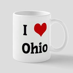 I Love Ohio Mug