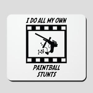 Paintball Stunts Mousepad