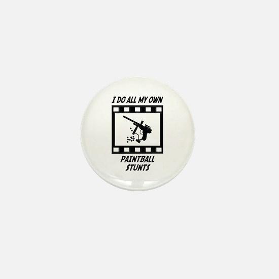 Paintball Stunts Mini Button