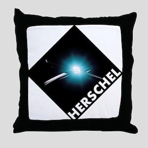 Hershel Space Telescope Throw Pillow