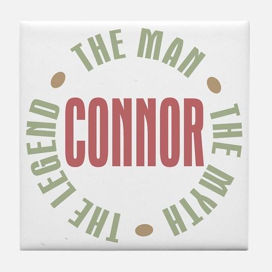 Connor Man Myth Legend Tile Coaster