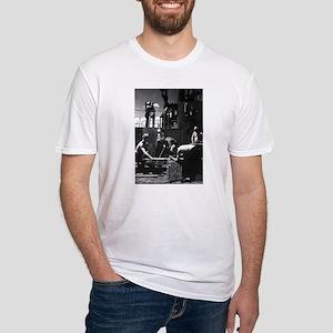 NAVY SUBMARINE CREWMEN Fitted T-Shirt