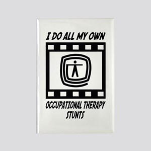 Occupational Therapy Stunts Rectangle Magnet