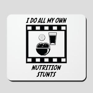 Nutrition Stunts Mousepad