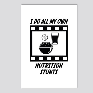 Nutrition Stunts Postcards (Package of 8)