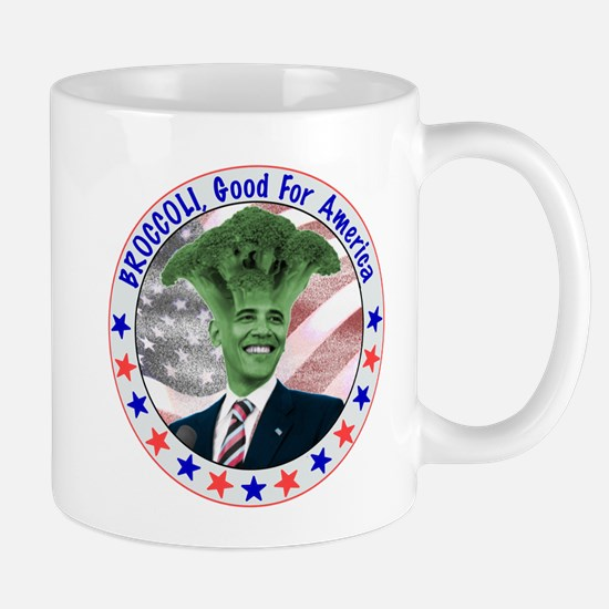 Broccoli Obama Mug