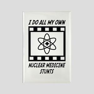 Nuclear Medicine Stunts Rectangle Magnet