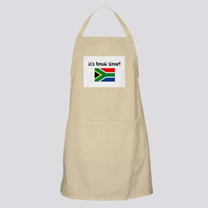 It's Braai Time! Apron