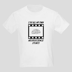 Neuroscience Stunts Kids Light T-Shirt