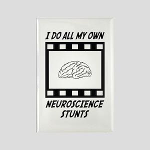 Neuroscience Stunts Rectangle Magnet