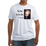 Immanuel Kant 1 Fitted T-Shirt