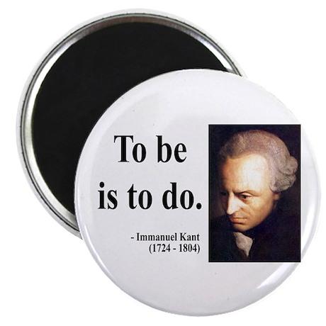 """Immanuel Kant 1 2.25"""" Magnet (10 pack)"""