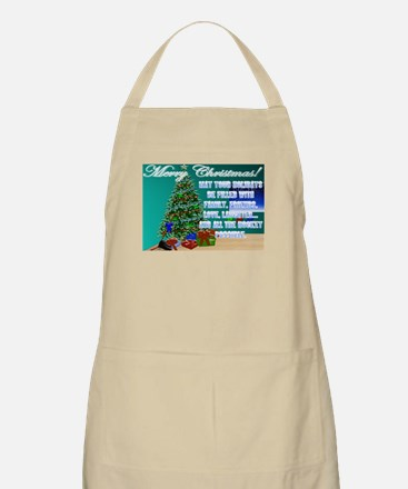 Christmas Hockey Cards & Gifts 2 BBQ Apron