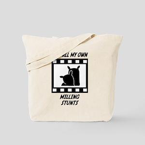Milling Stunts Tote Bag