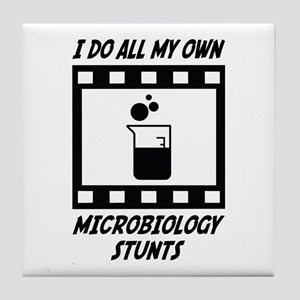Microbiology Stunts Tile Coaster