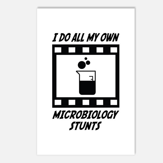Microbiology Stunts Postcards (Package of 8)