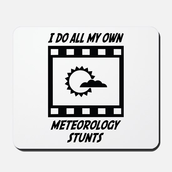 Meteorology Stunts Mousepad