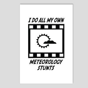 Meteorology Stunts Postcards (Package of 8)