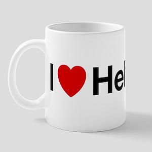 i heart helvetica Mug