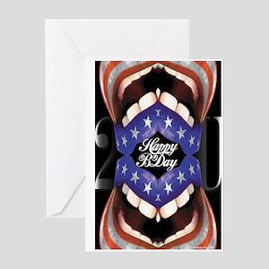 'Happy Birthday 2 U' Greeting Card (FlagMouth)