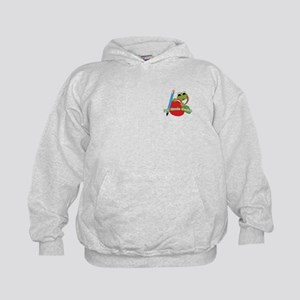 2nd Grade Genius Frog Kids Sweatshirt