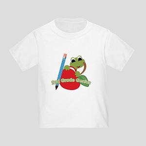 2nd Grade Genius Frog Toddler T-Shirt