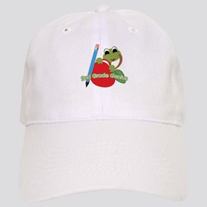 2nd Grade Genius Frog Cap