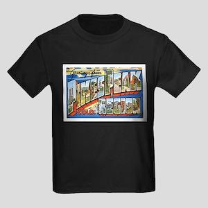 Pikes Peak Colorado CO Kids Dark T-Shirt