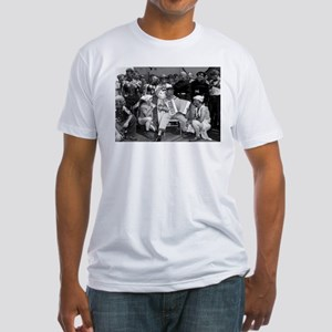 USS ENTERPRISE NEPTUNE PARTY Fitted T-Shirt
