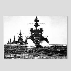 BATTLESHIP USS PENNSYLVANIA Postcards (Package of