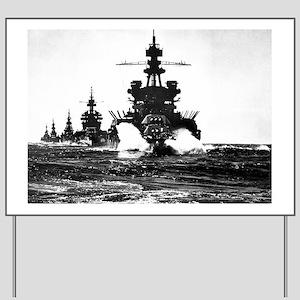 BATTLESHIP USS PENNSYLVANIA Yard Sign