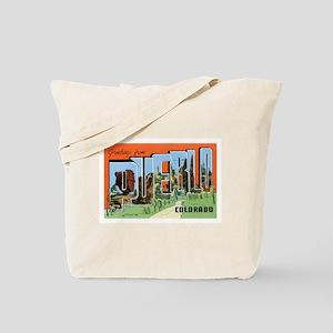 Pueblo Colorado CO Tote Bag