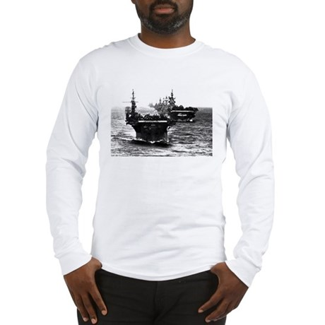 WWII AIRCRAFT CARRIERS Long Sleeve T-Shirt