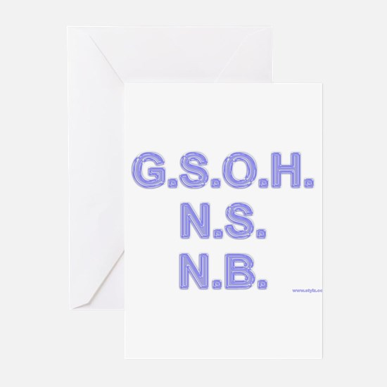 Stationery - GSOH Greeting Cards (Pk of 10)