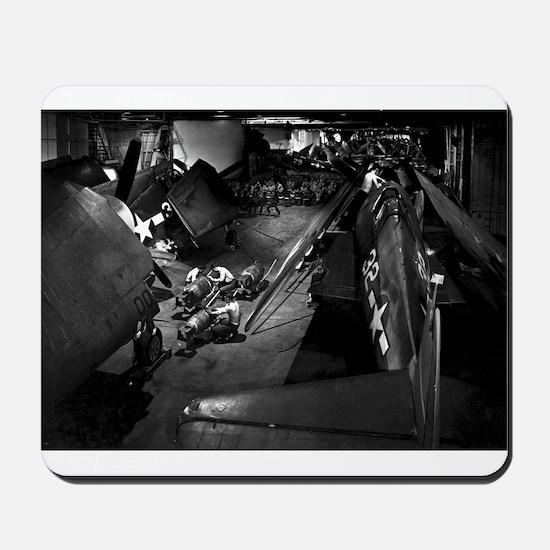 USS YORKTOWN 1943 Mousepad