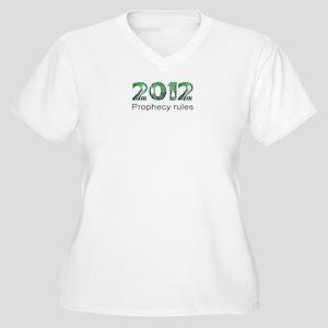 2012 Prophecy Women's Plus Size V-Neck T-Shirt