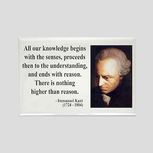 Immanuel Kant 2 Rectangle Magnet