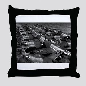 P-47 Thunderbolt Fighters Throw Pillow