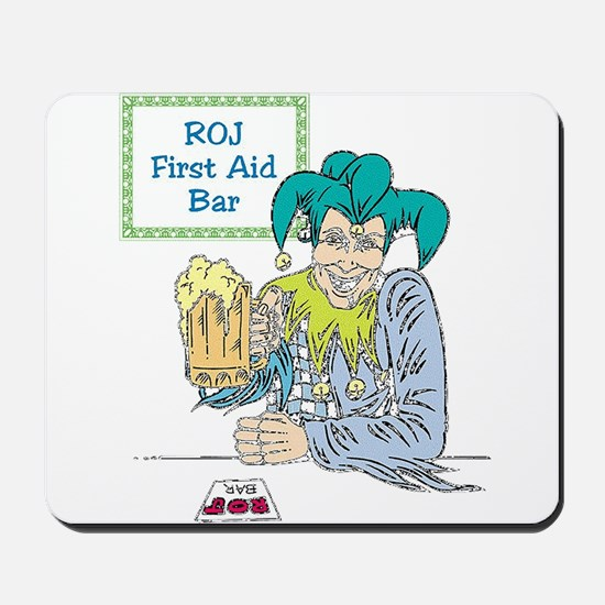 Jesters First Aid Mousepad