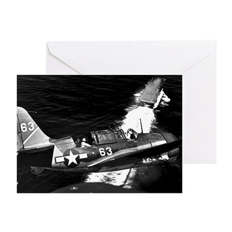 Helldiver Diver Bomber Greeting Cards (Pk of 10)