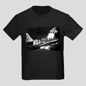 Helldiver Diver Bomber Kids Dark T-Shirt