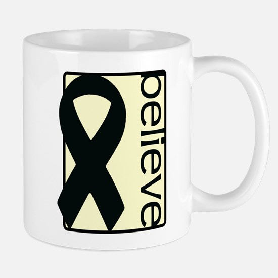 Cream (Believe) Ribbon Mug
