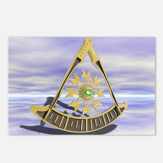 Past Master Postcards (Package of 8)