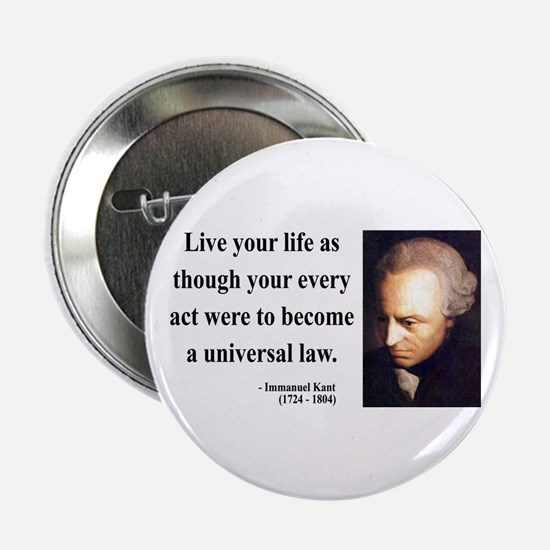 "Immanuel Kant 3 2.25"" Button"