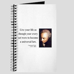 Immanuel Kant 3 Journal