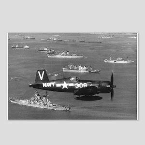 F4U-4B CORSAIR FIGHTER Postcards (Package of 8)
